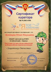 267 Кондакова Юлия